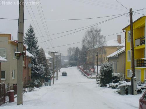 Naše ulice v zime