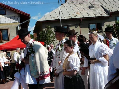 Kutliarsky deň - Svadba
