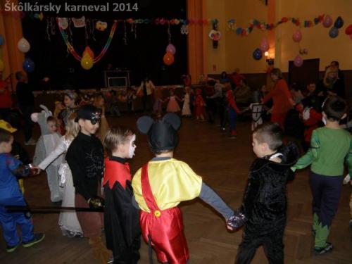 Škôlkársky karneval 2014
