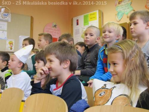ŠKD - ZŠ Mikulášska besiedka v šk.r.2014-2015
