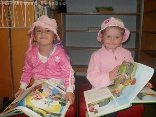 MŠ - Ako sme boli v knižnici