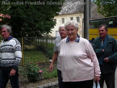 Náš rodák František Očenáš - 90.rokov