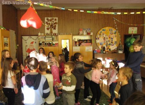 ŠKD-Vianočný večierok